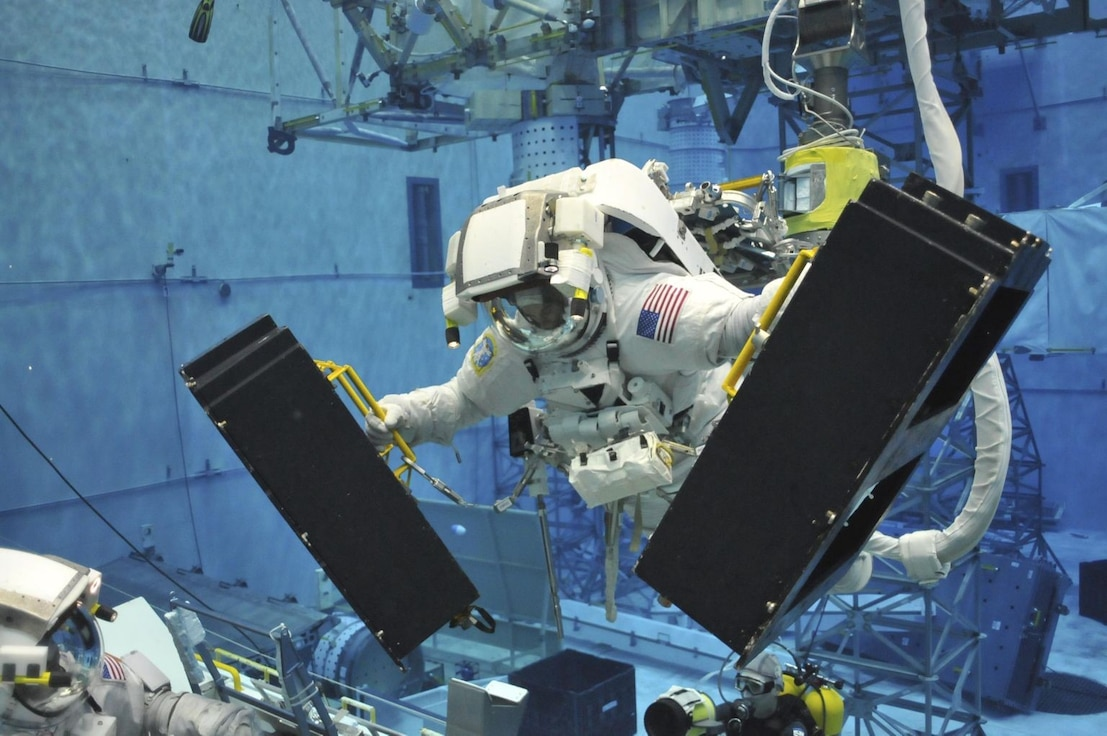 Astronauts require extensive, specialized training to complete their missions, and it's up to the host aviation resource management (HARM) office at Peterson Air Force Base, Colorado, to track training, medical and psychological qualifications, and flight pay.