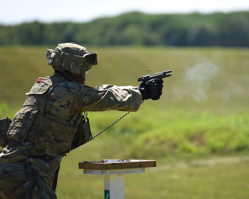 Michigan Army National Guard MP unit conducts Annual Training