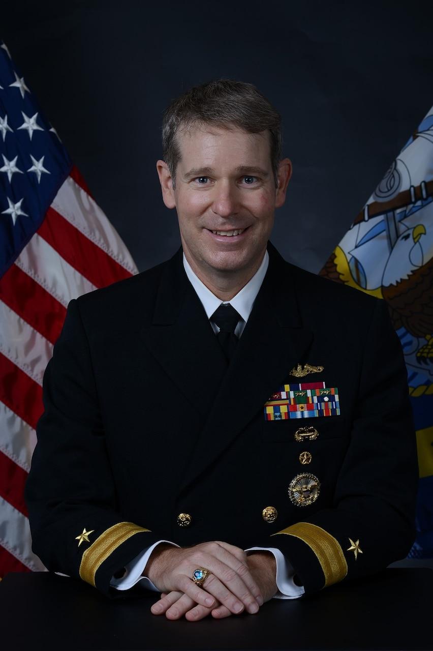 Rear Admiral Brian L. Davies, Deputy Commander, U.S. 2nd Fleet