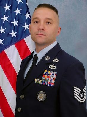 Male U.S. Air Force NCO portrait.