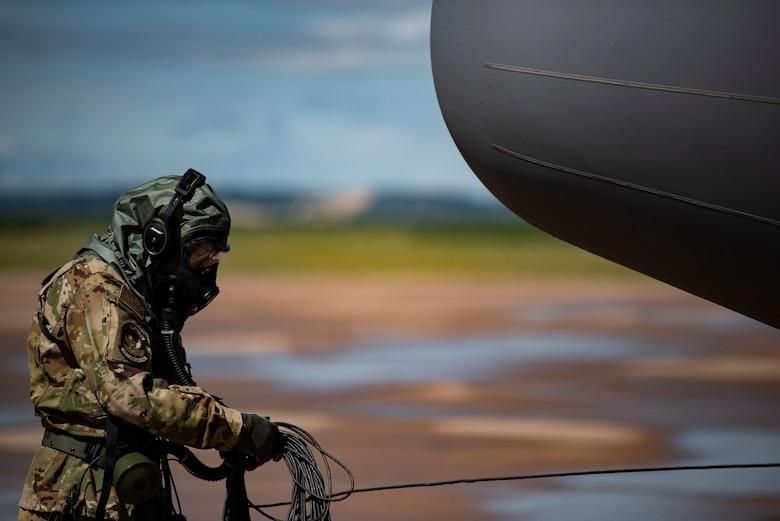 317th AW tests 2PUG aircrew chem gear