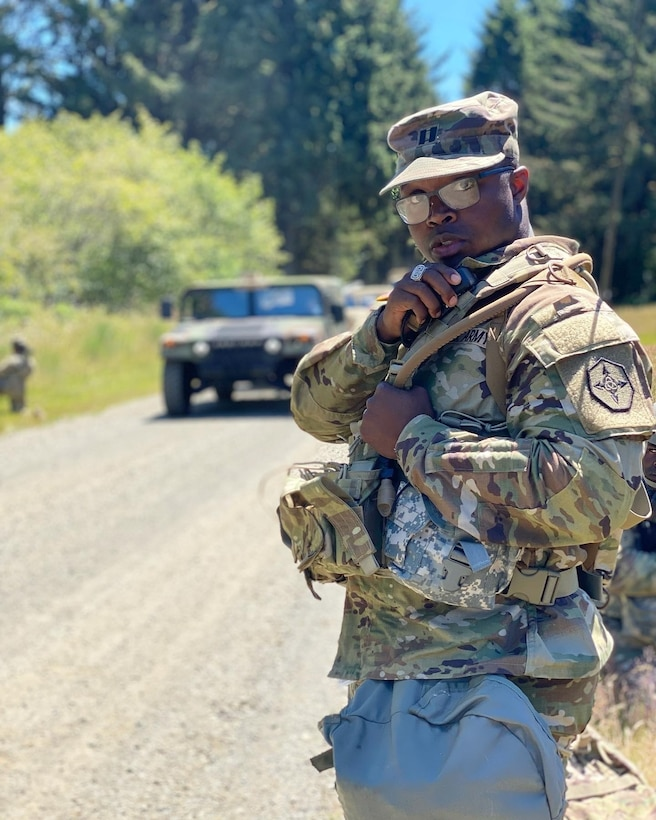 Soldiers from 654th Regional Support Group step up to challenges at annual training