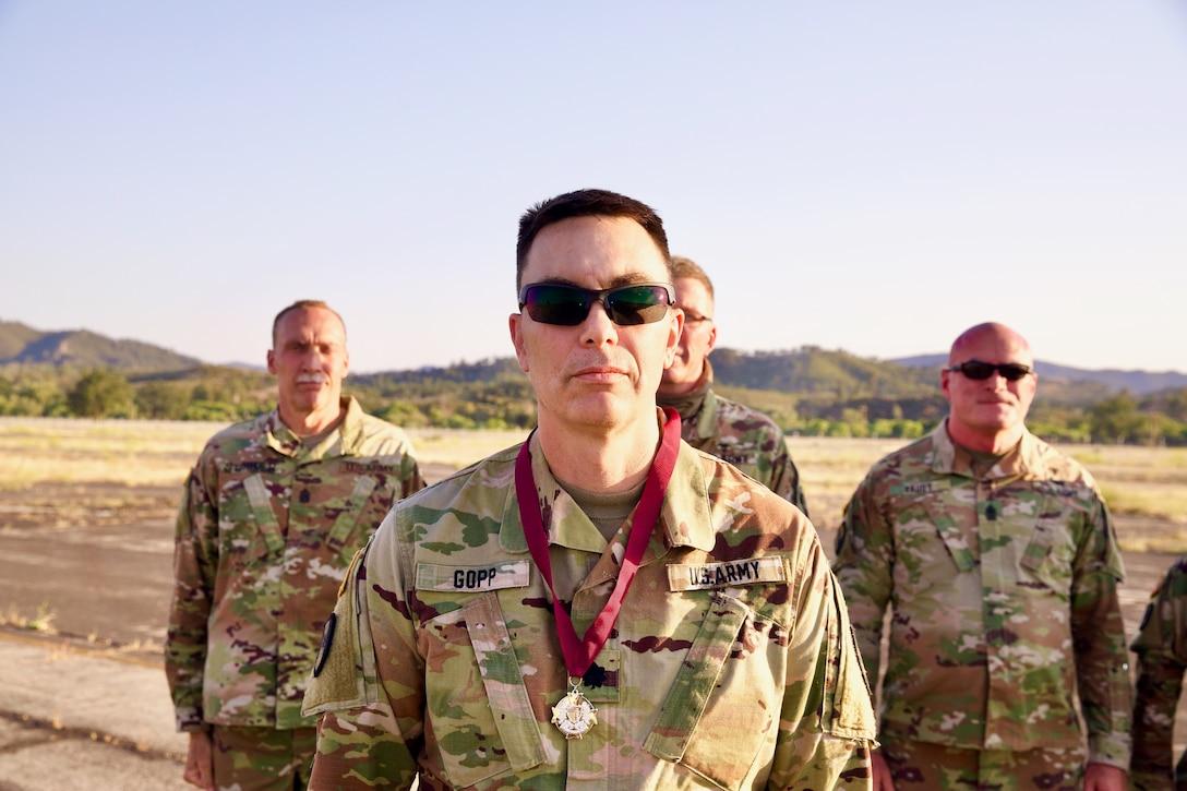 MRTC Soldier receives Order of Military Medical Merit award
