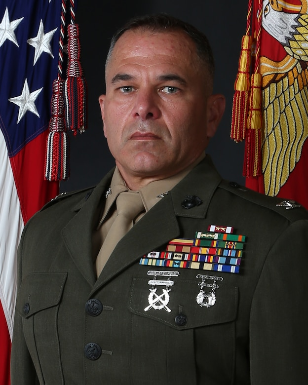 Colonel Kyle G. Phillips, Headquarters & Support Battalion, MCIEAST-MCB Camp Lejeune commanding officer