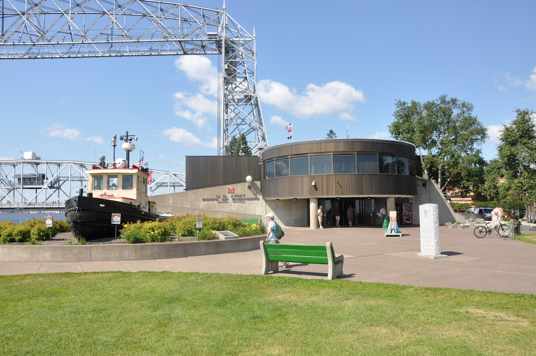 The Lake Superior Maritime Visitor Center reopens July 1, 2021 in Duluth, Minn.