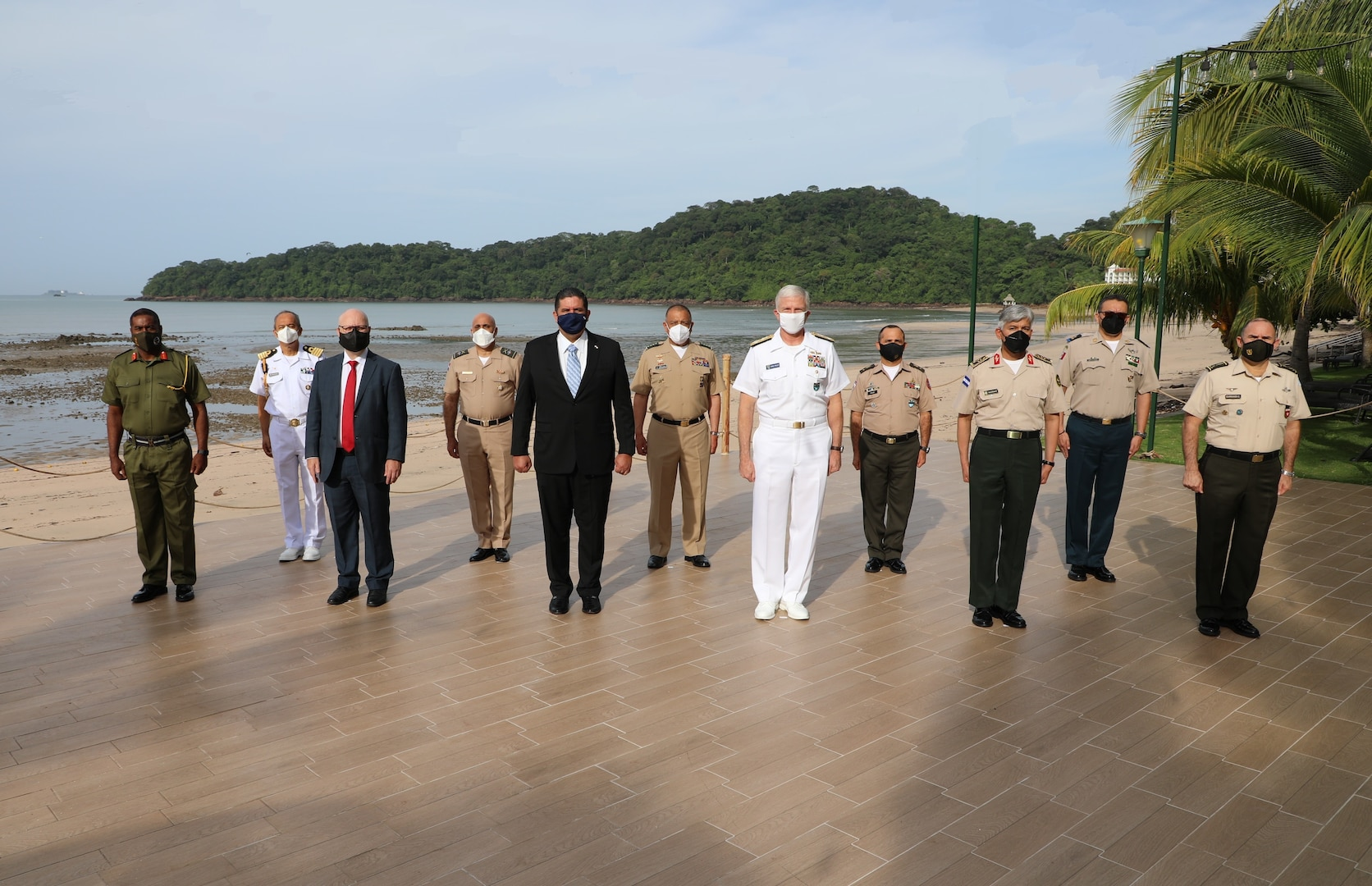 Group photo of security leaders.