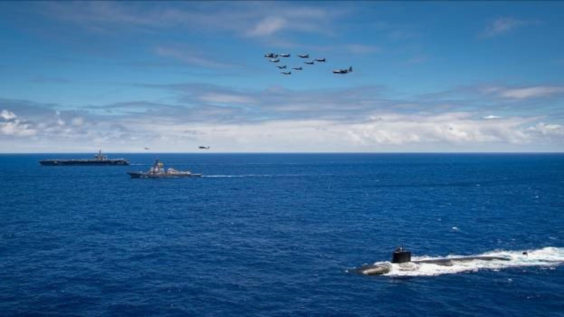 U.S. Navy, Marines, Coast Guard Conduct Joint Operations