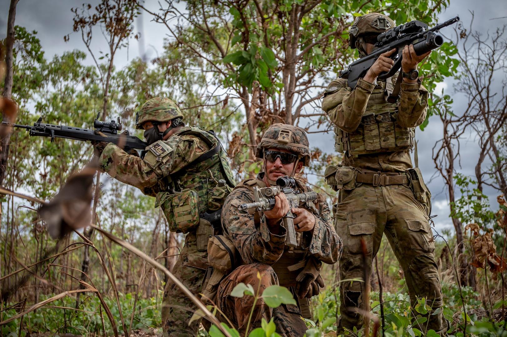 U.S., Australian, Japanese militaries complete Exercise Southern Jackaroo