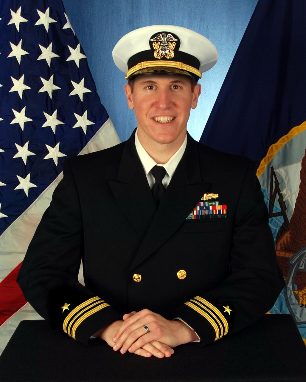 Lieutenant Commander Daniel A. Sledz