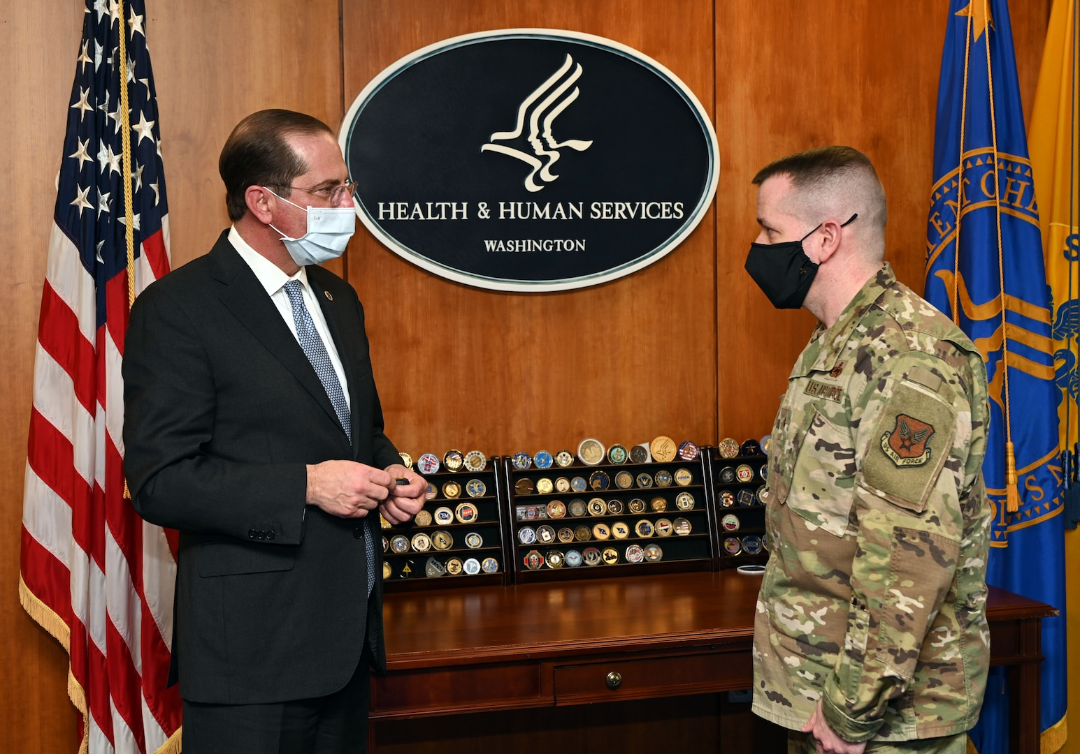 Commander returns after tour with White House COVID-19 Task Force