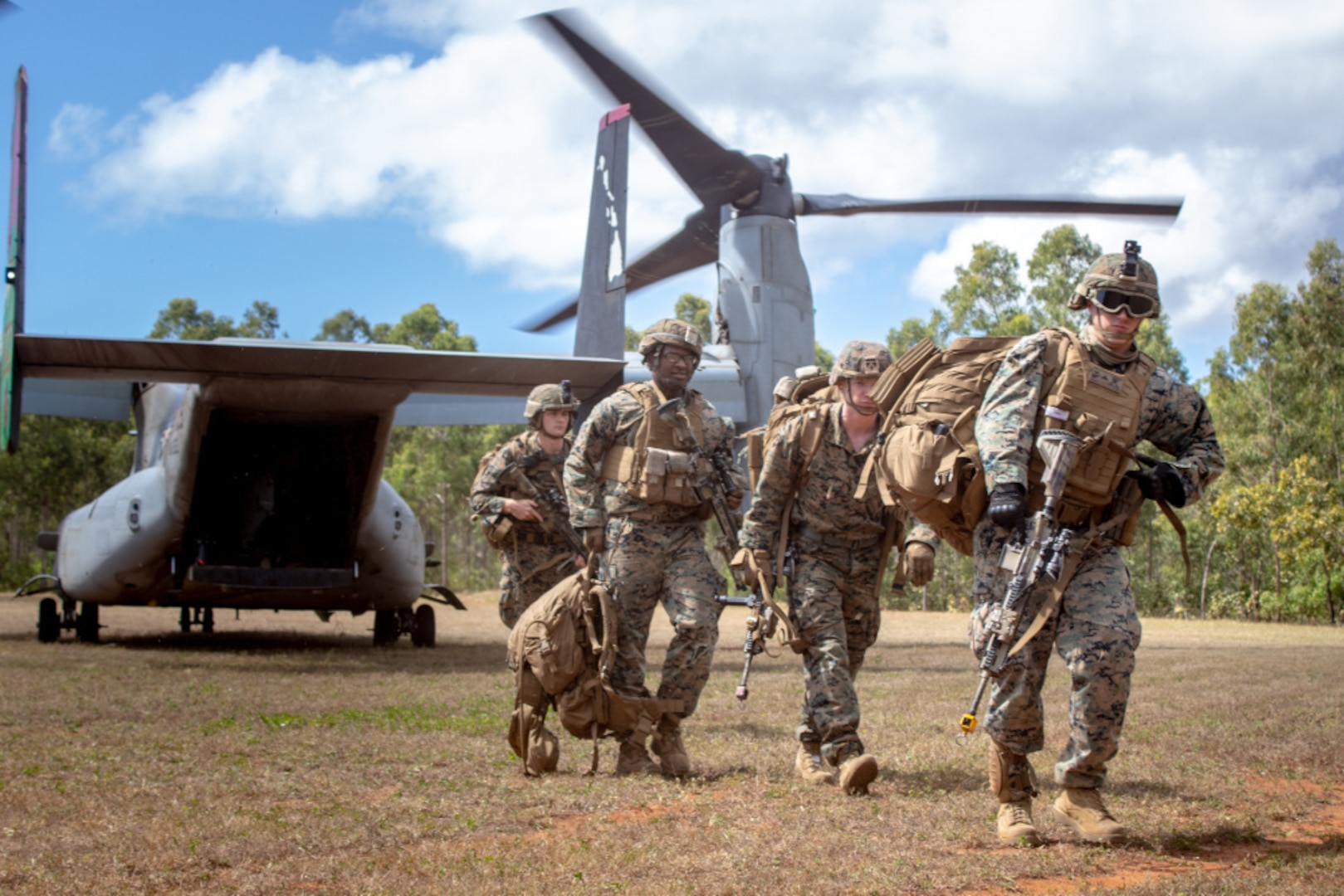 U.S. Marines in Australia complete embassy reinforcement and noncombatant evacuation operations exercise