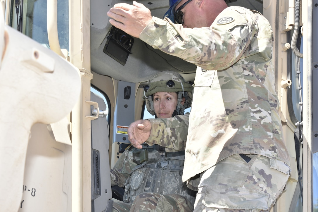 471st Engineer Company troop projects at Fort Hunter Liggett