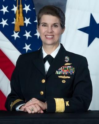 Kristen B. Fabry RDML, SC, U.S. Navy Commander, DLA Land and Maritime