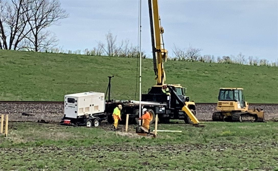 Congratulations to Memphis District project delivery team members for their recent work and efforts towards rehabilitating 128 existing relief wells just south of Cape Girardeau, Missouri. The contract was awarded to Kinder Brothers Excavating, Inc. on Sept. 16, 2020, for $1,547,550.