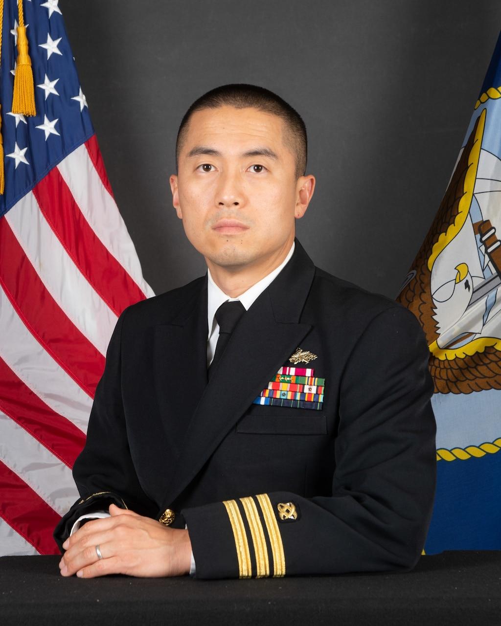 Commander Chris D. Kim