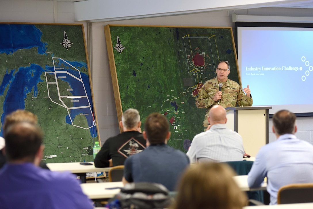 Michigan National Guard hosts industry innovation challenge think tank