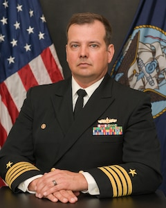 Studio portrait of Capt. Gary M. Chase