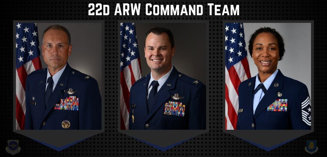 22d ARW Command Team