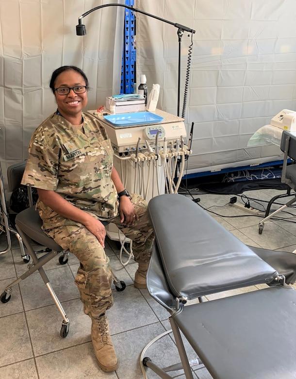 Kentucky National Guard Maj. Mitisha Martin