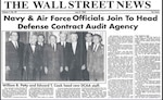 newspaper clip from 1965 newspaper with headline of dcaa establishment