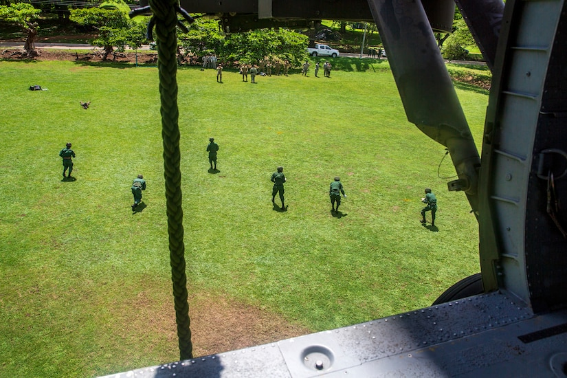 JTF-Bravo conducts interoperability training with Costa Rican partners