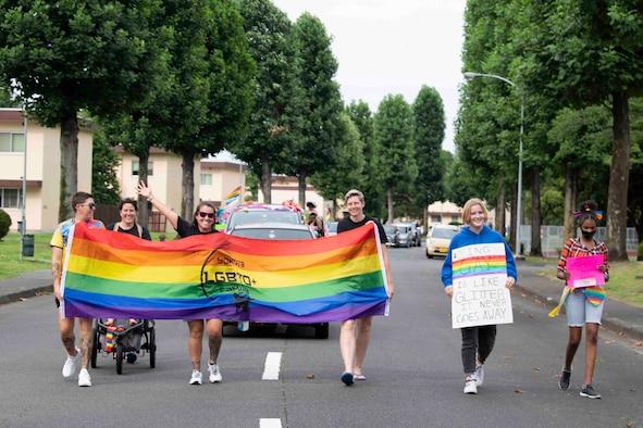 Yokota 2021 Pride Parade
