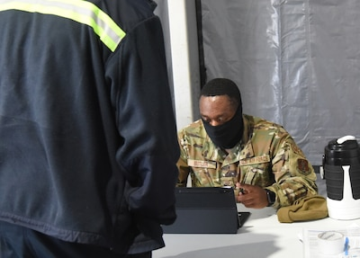 VNG Soldiers, Airmen engaged in COVID-19 vaccinations