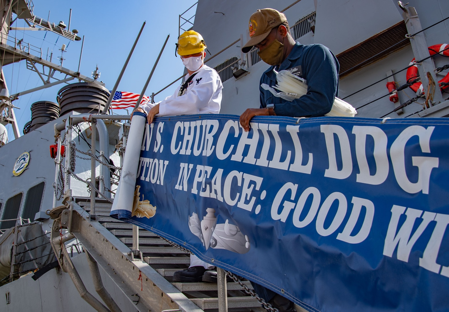 USS Winston S. Churchill (DDG 81); Sudan