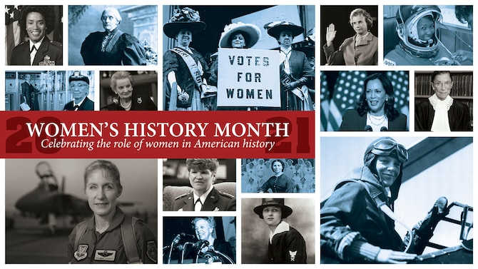 March is National Women's History Month.
