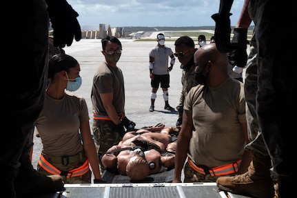 Joint Mass Casualty Exercise Conducted at Andersen AFB