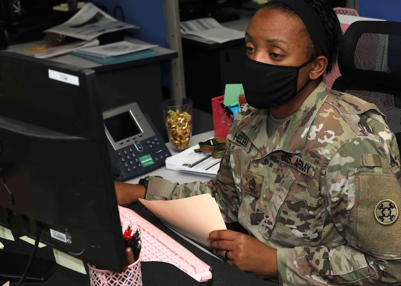 "Army Reserve Staff Sgt. Briana Helem, a paralegal deployed with the 310th Sustainment Command (Expeditionary) to Camp Arifjan, Kuwait, said she wants Black History to be every month. ""I don't think of it as one month. To me, it is every month. I am always black, regardless."" Helem said she wants Black History to go beyond slavery and inventors, and teach about Black Wall Street and entrepreneurs, such at the first female African-American millionaire Madame C.J. Walker."