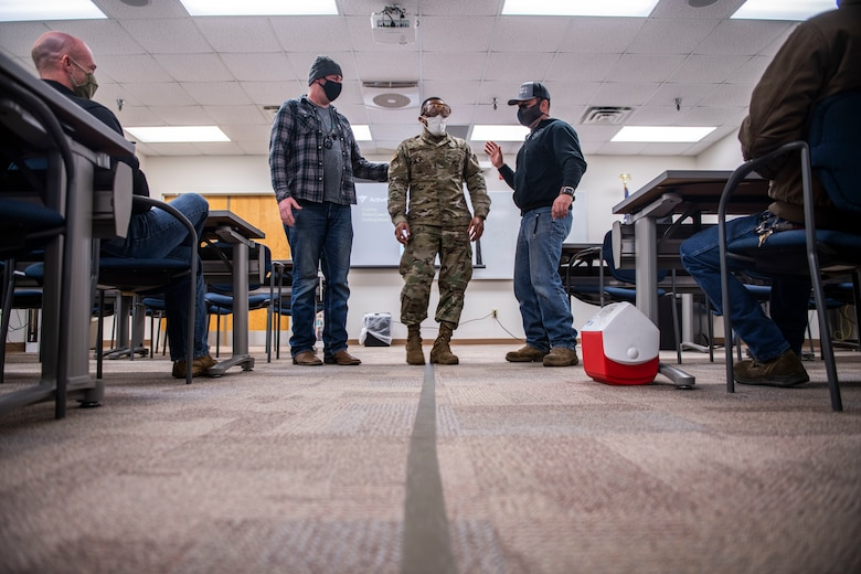 The 4th Fighter Wing safety office trains members across Seymour Johnson Air Force Base to become certified instructors for the Basic Riders Course.