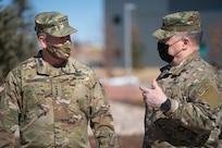 general receives briefing