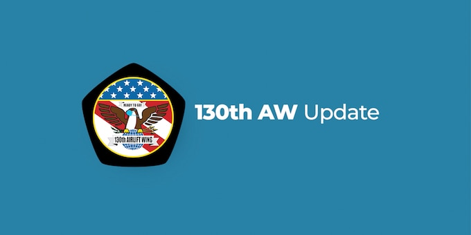 Logo for the 130th Airlift Wing Update video series.