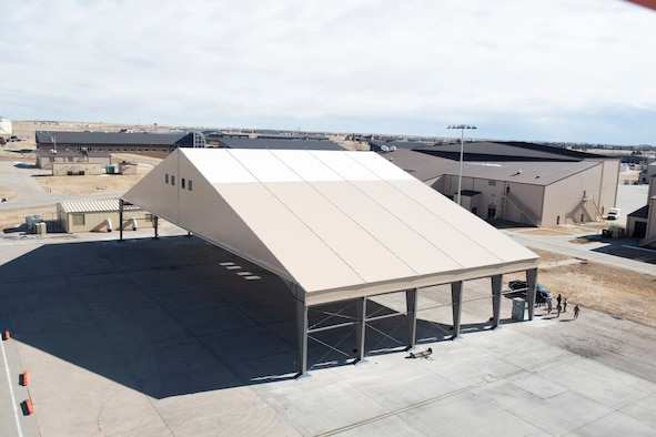 B-21 Raider Environmental Protection Shelter prototype