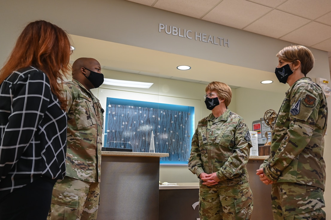 45th Medical Group Hosts Air Force Surgeon General