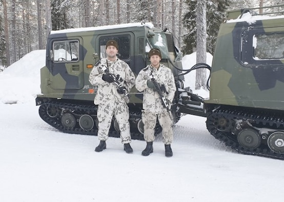 Kleber Soldiers participate in Finnish Army's Winter Combat Course