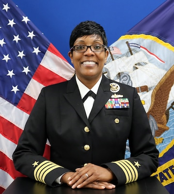 Official photo of Captain Janet H. Days