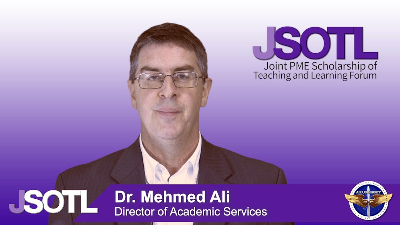 JSOTL (Joint PME Scholarship of Teaching and Learning) Forum invitation to attend breakout sessions and hear featured speakers.