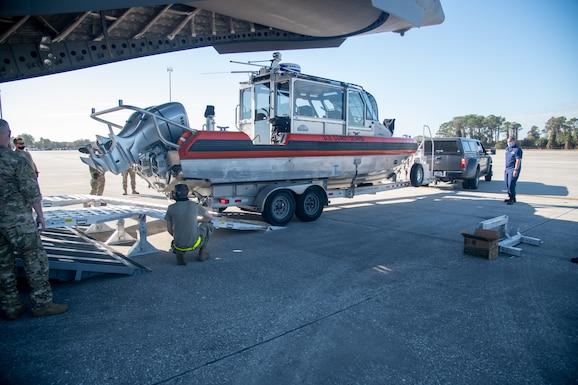 Dover Reserve Citizen Airman train at Patriot Sands 2021
