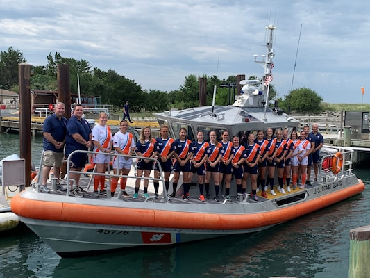 2019 AFS Tournament Coast Guard Rugby Team