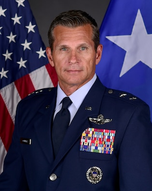 This is the official portrait of Maj. Gen. Barry R. Cornish.