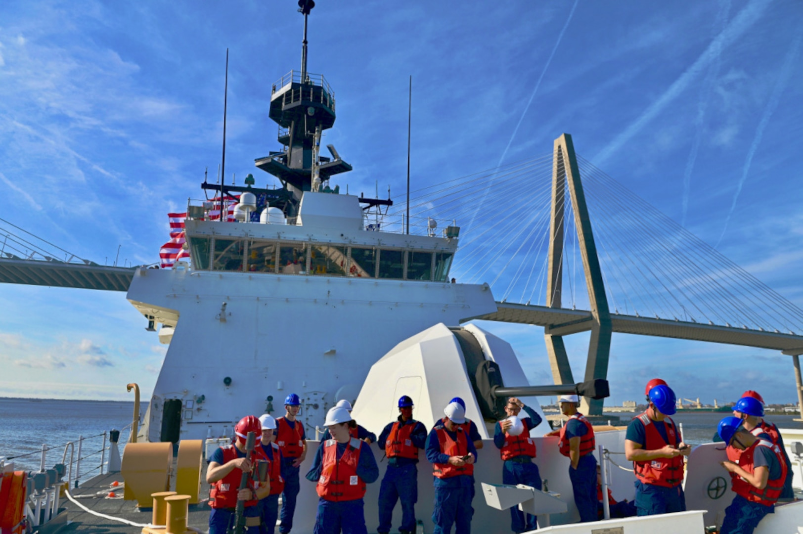 USCGC Stone arrives home after Operation Southern Cross