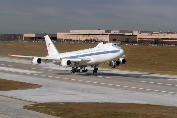The Air Force E-4B fleet is receiving key communication upgrades. (Courtesy photo)