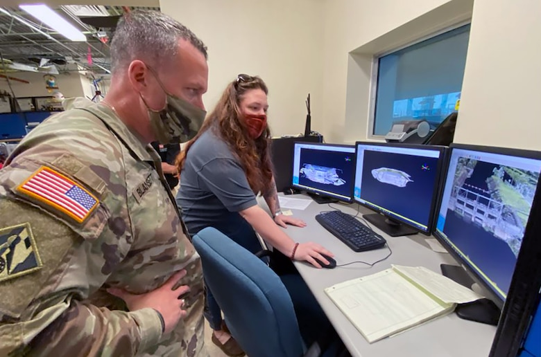 SAD command sergeant major visits Jacksonville District