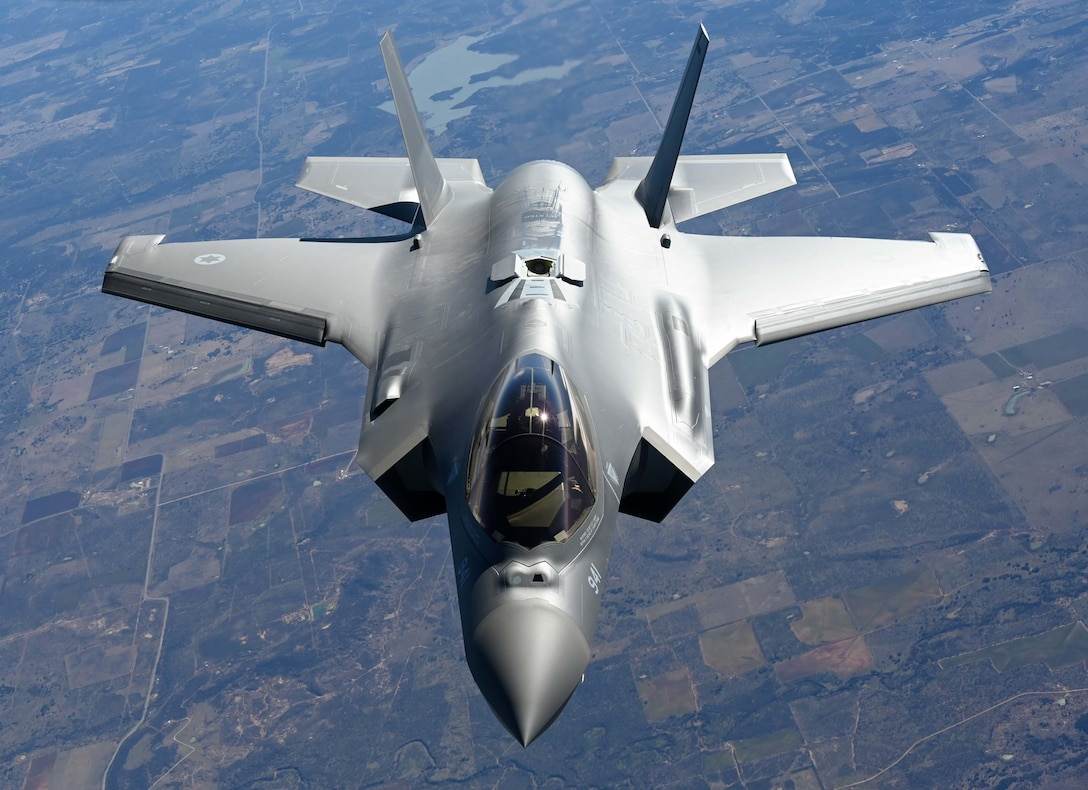 Defense Contract Maintenance Agency conducts first flight with Okies
