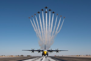Thunderbirds, Blue Angels perform 'Super Delta'
