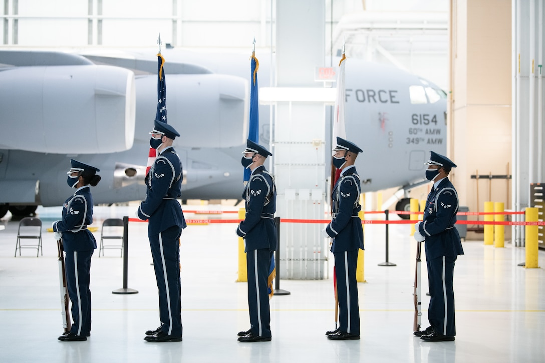 Travis AFB Honor Guard