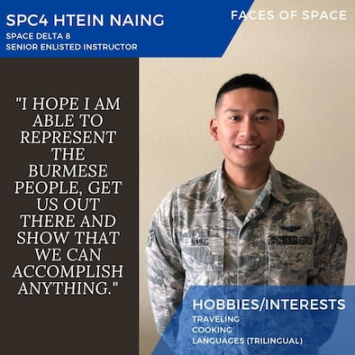 Faces of Space: Spc4 Htein Naing