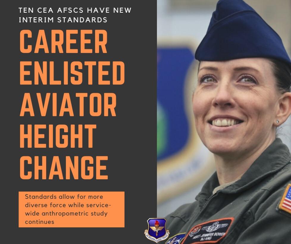 enlisted female Airmen in flight suit
